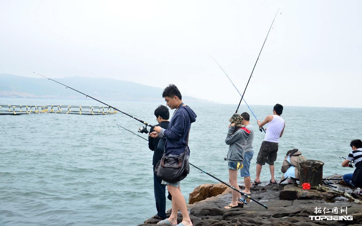 今天晚上吃什么,全凭自己的海钓技术