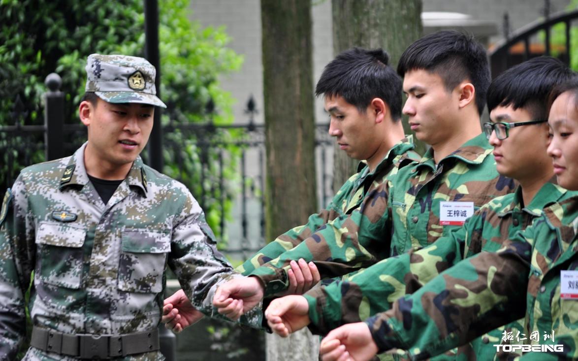 军姿训练,严谨,训练执行惯性