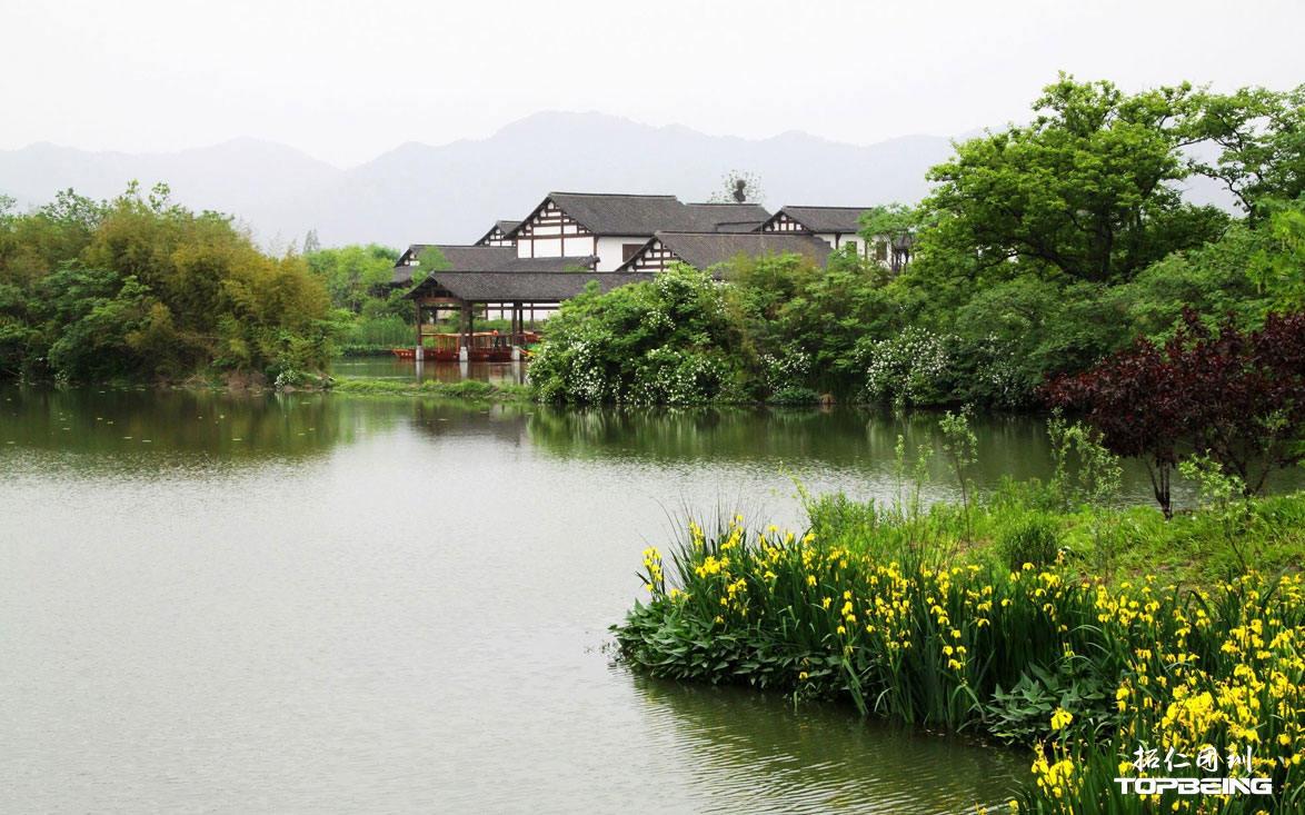 西溪之美,在于建筑与水域的融合